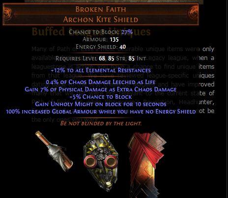 Poe 2 best berath blessing options